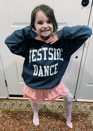 dance classes for toddlers, teens, adults in KS